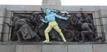 Pomnik Żołnierzy Armii Radzieckiej w Sofii, Bułgaria. Fot. Vassia Atanassova - Spiritia, na licencji GNU FDL